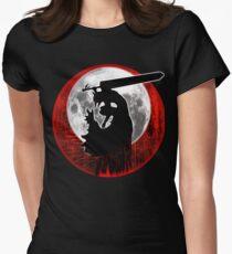 Black Swordsman armor Women's Fitted T-Shirt