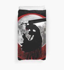 Black Swordsman armor Duvet Cover