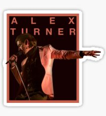 Alex Turner Sticker / Poster Design | Arcitc Monkeys UK Merch | TLSP Merch Sticker