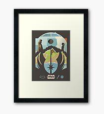 Star wars last jedi Framed Print