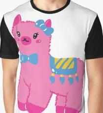 Darling Alpaca - English Text Graphic T-Shirt