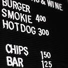 Fast Food Board by John Kroetch