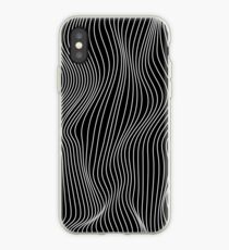 Optical Illusion Minimal Lines iPhone Case