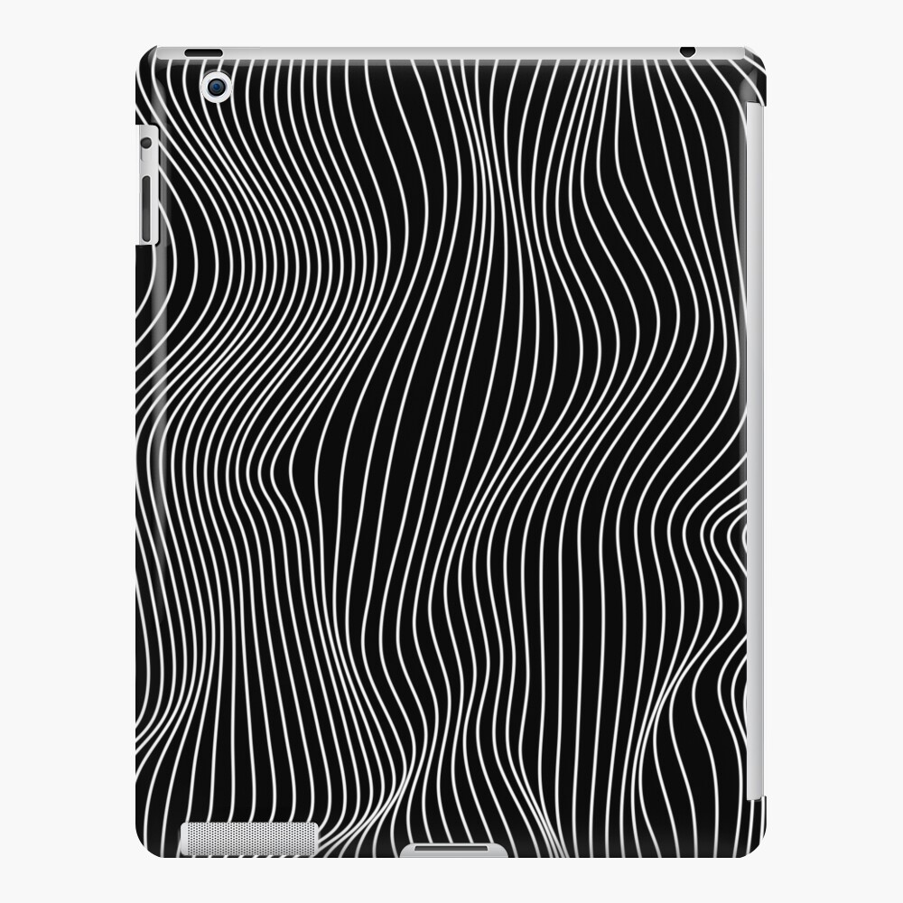 Optical Illusion Minimal Lines iPad Case & Skin