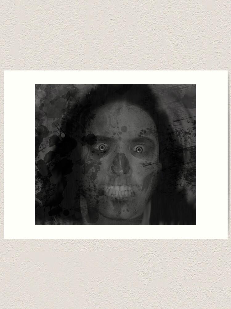 Alternate view of Il Fantome - REMIXED Art Print