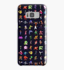 8-Bit Heroes Samsung Galaxy Case/Skin