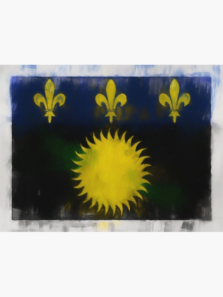 Guadeloupe Flag Reworked No. 66, Series 1 by 8th-and-f