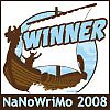 I'm A NaNoWriMo ☼WINNER!!!☼ YAY!!! ☺ by adgray