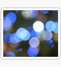 Bubbles of Light  Blue Sticker