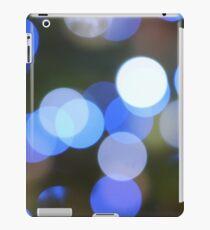 Bubbles of Light  Blue iPad Case/Skin