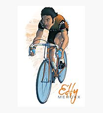 Eddy 'Le Cannibale' Merckx (lighter version) Photographic Print