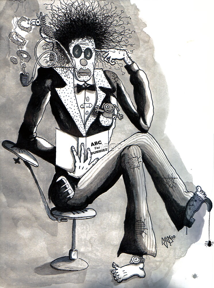 The Intellectual Clown by mago