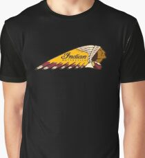 Indian Motorcycle Logo Graphic T-Shirt