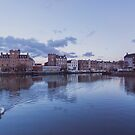 The Shore in Leith by Jasmin Bauer