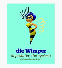 die Wimper (the tab) Photographic Print