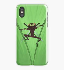Ninja Frog iPhone Case