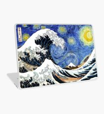 Iconic Sternennachtwelle von Kanagawa Laptop Folie