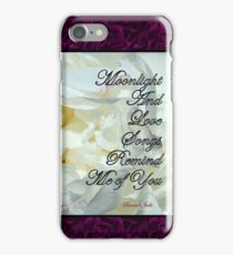 Romantic Love ~ As Time Goes By iPhone Case/Skin