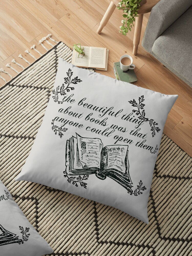 THE BEAUTIFUL THING ABOUT BOOKS by thatbookgal