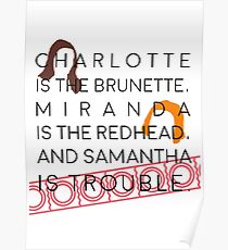 Samantha ist Ärger Poster