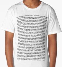 john mayer's discography Long T-Shirt