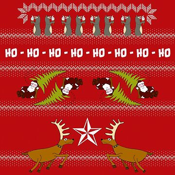 Funky Christmas Sweater by Plaatjes