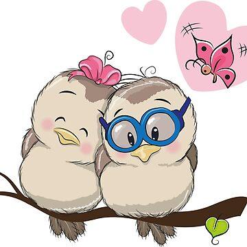 Loving Birds by Vitalia