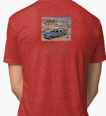 EH Holden Station Wagon nostalgia Tri-blend T-Shirt
