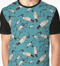 White Ibis / Bin Chickens Graphic T-Shirt
