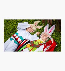 Yamausagi and Usagimaru Cosplay Photographic Print