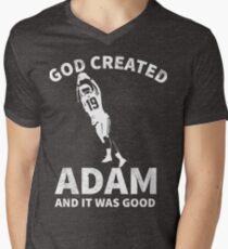 83ba86fd Funny Adam Minnesota Football V-Neck T-Shirt