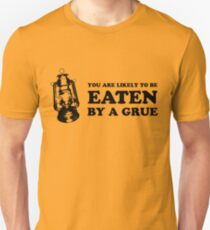 You are likely to be eaten by a grue (light shirt) Unisex T-Shirt