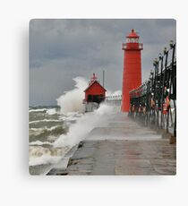 GALE WARNINGS Canvas Print