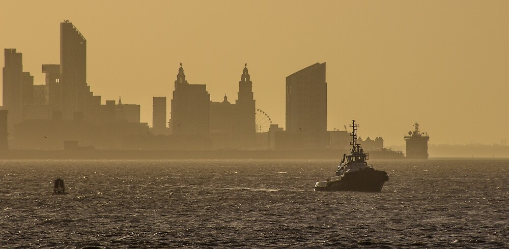 Morning on the Mersey by Paul Madden