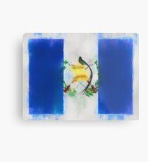 Guatemala Flag Reworked No. 66, Series 1 Metalldruck