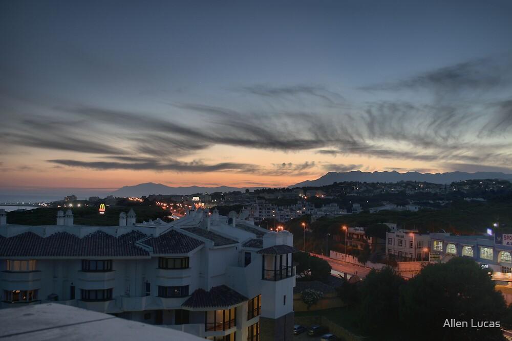 Calahonda Evening HDR by Allen Lucas