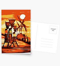 Masai beach Postcards