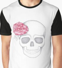 Skull & Rose Graphic T-Shirt