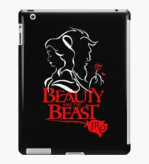 beauty beast iPad Case/Skin