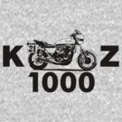 Kawasaki KZ1000 (DARK) by Steve Harvey