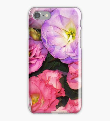 Lisianthus as beautiful  as any Flower iPhone Case/Skin