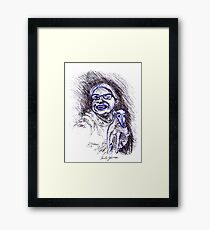 cheese... Framed Print