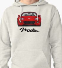 MX5 Miata NC Red Pullover Hoodie
