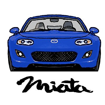 MX5 Miata NC Blue by Woreth