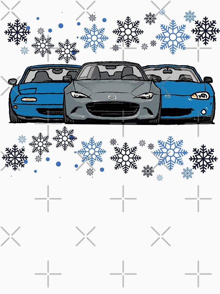 MX5 Miata Christmas by Woreth
