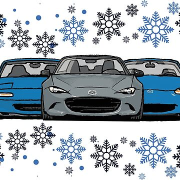 MX5 Miata Christmas by Woreth