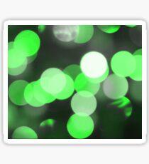 Bubbles of Light  Green Sticker
