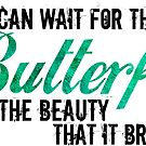 I can wait for the Butterfly and the Beauty that it Brings...   Green Shimmer by Carrie Potter