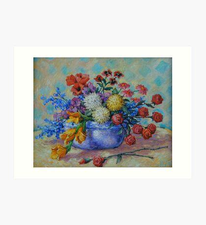 Flowers #2 Art Print