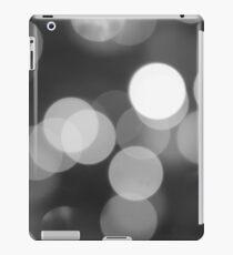 Bubbles of Light  Grey iPad Case/Skin